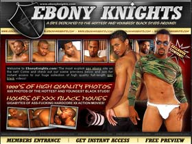 Welcome to Ebony Knights - huge collection of high quality gay black videos!