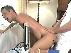 Doctor gay fucks patient bareback